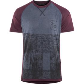 ION Scrub_Amp T-shirt Heren, vinaceous